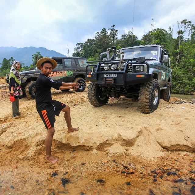 """Camping in Malaysia"" stock image"