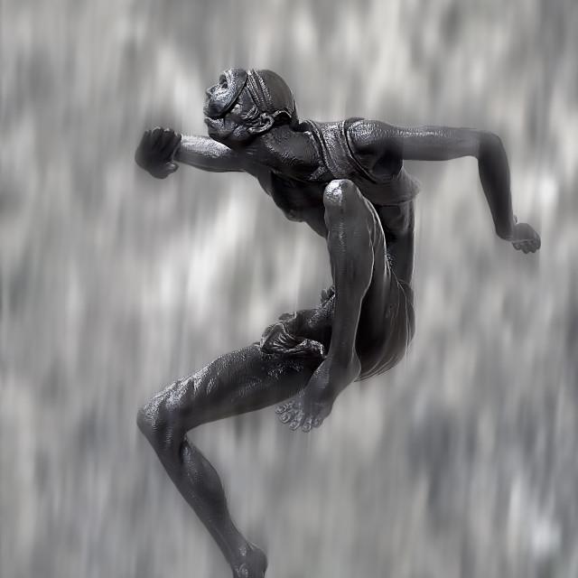"""Tha Mask Dancer"" stock image"