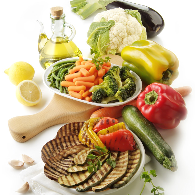 """""""Various vegetables"""" stock image"""