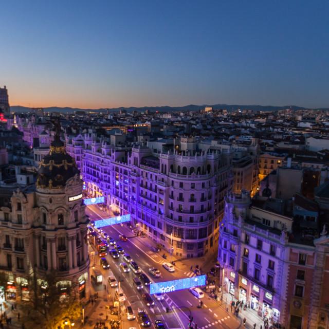 """Madrid"" stock image"