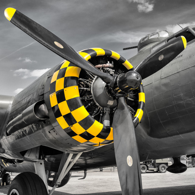 """B17 Engine"" stock image"