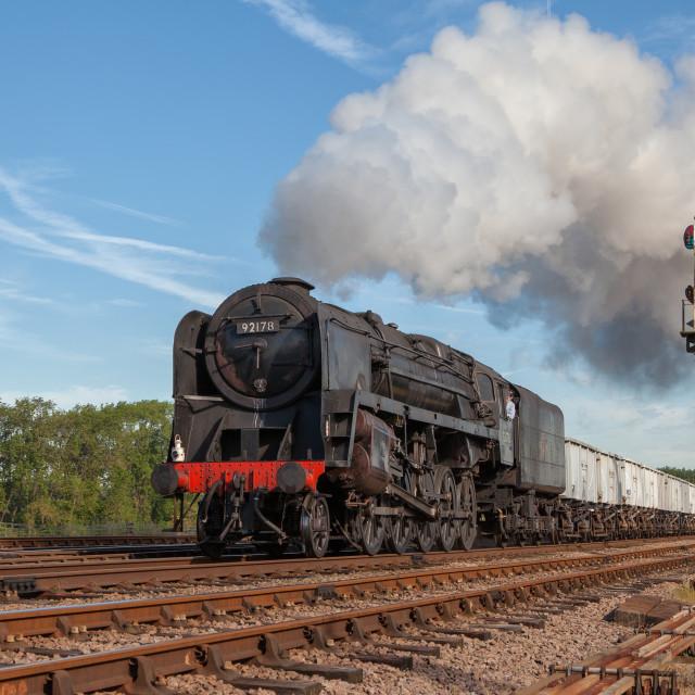 """9F Mineral Train"" stock image"