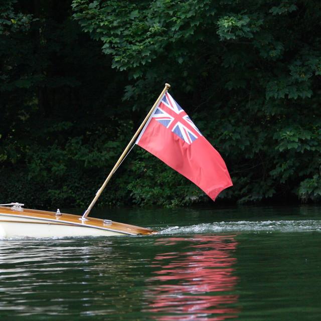 """Royal Ensign"" stock image"