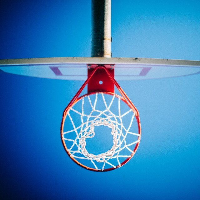 """Hoop Dreams"" stock image"