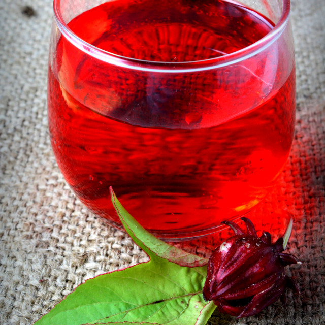 """Roselle Juice"" stock image"