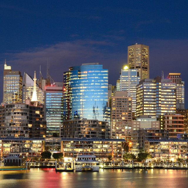 """""""Darling Harbour"""" stock image"""