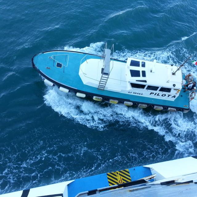 """little pilot boat"" stock image"