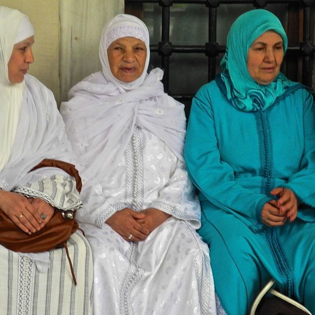 """""""Women in traditional costume turkish"""" stock image"""