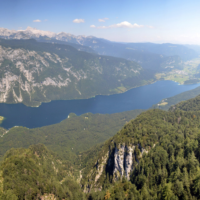 """Bohinj Valley"" stock image"