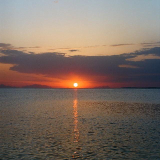 """Sunrise in Sharm el sheikh"" stock image"