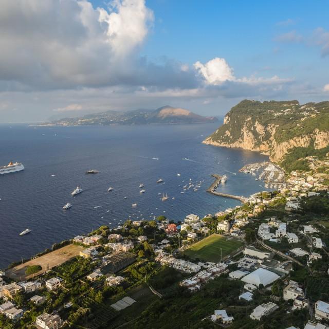 """Capri island"" stock image"