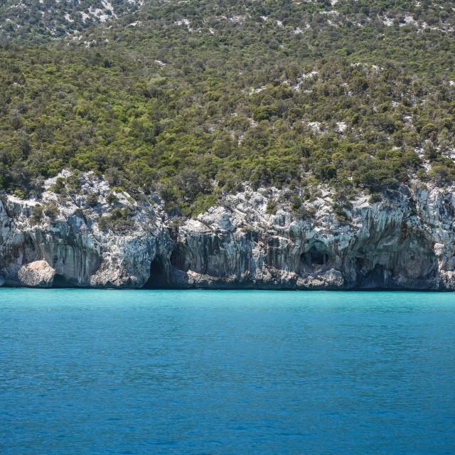 """Sardegna coast"" stock image"