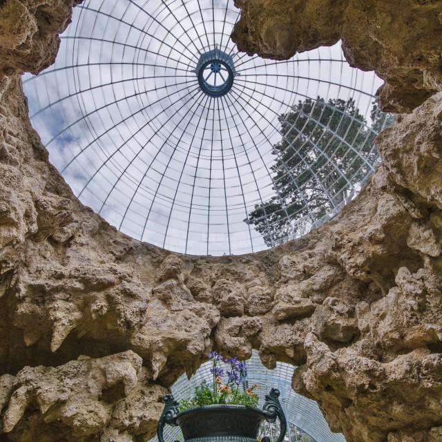 """Swiss Garden Grotto"" stock image"