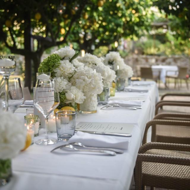 """""""Wedding table"""" stock image"""