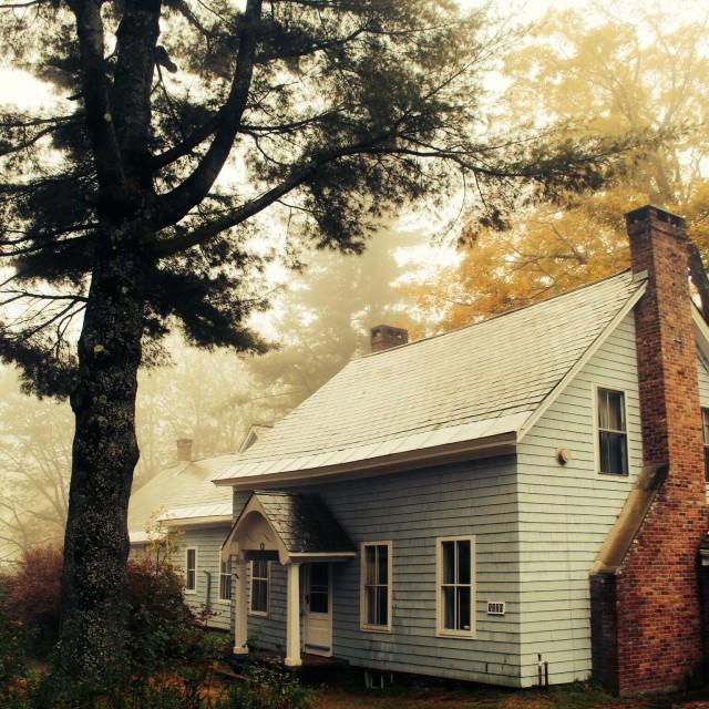 """autumn house"" stock image"