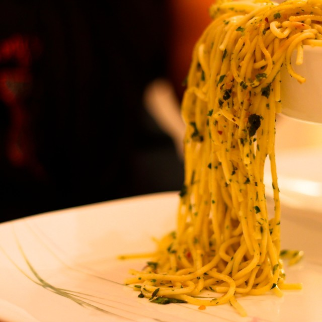 """pasta falls"" stock image"