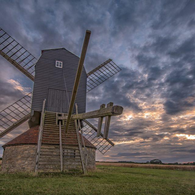 """""""Stevington Mill"""" stock image"""