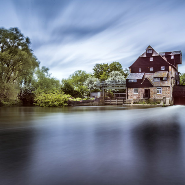 """""""Houghton Mill"""" stock image"""
