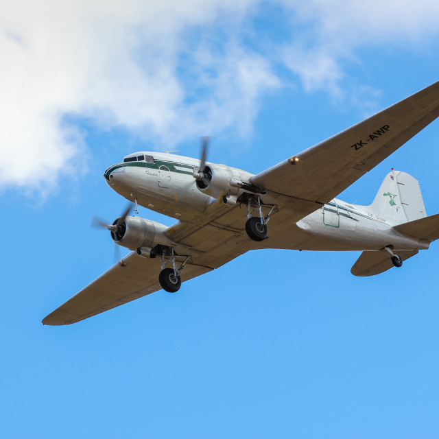 """Douglas DC3"" stock image"