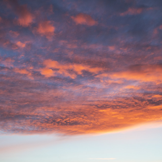 """Sunset Cloud"" stock image"