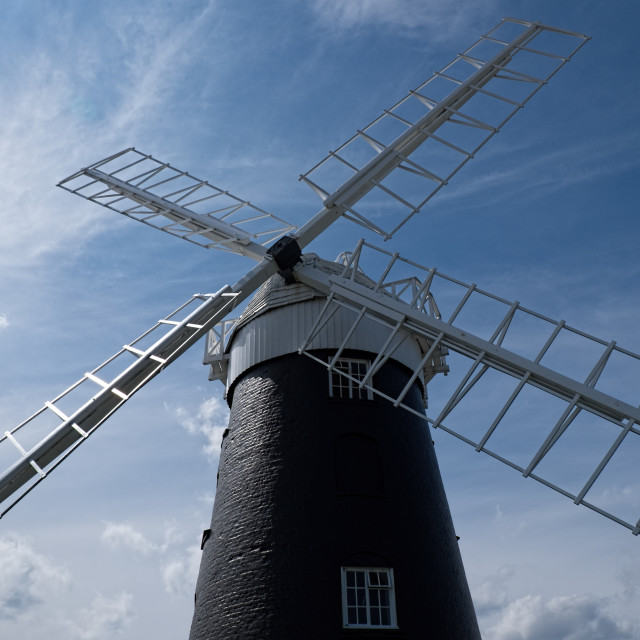 """Stow Mill"" stock image"