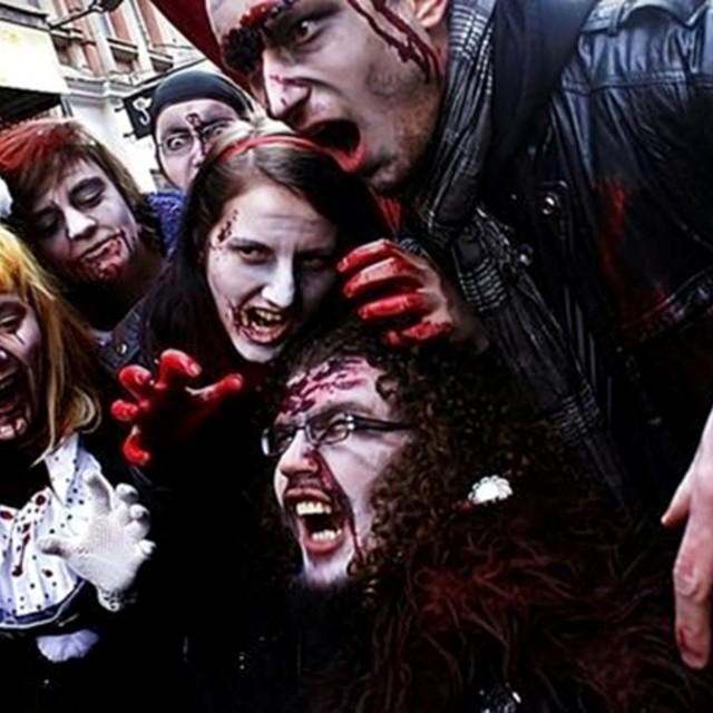 """""""Zombie Walk in Poznań"""" stock image"""