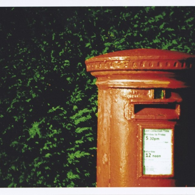 """Royal Mail Post Box"" stock image"