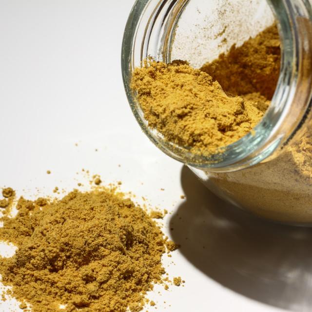 """Jar of ginger"" stock image"