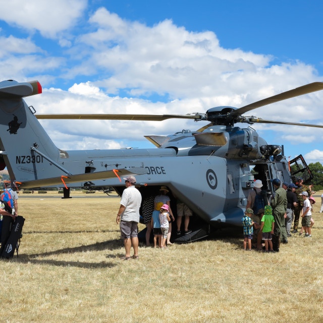 """""""NH90 helicopter"""" stock image"""