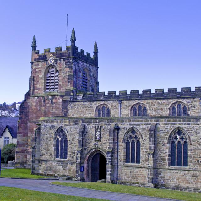 """Bangor Cathedral"" stock image"