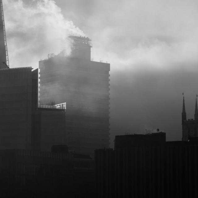 """Foggy London"" stock image"