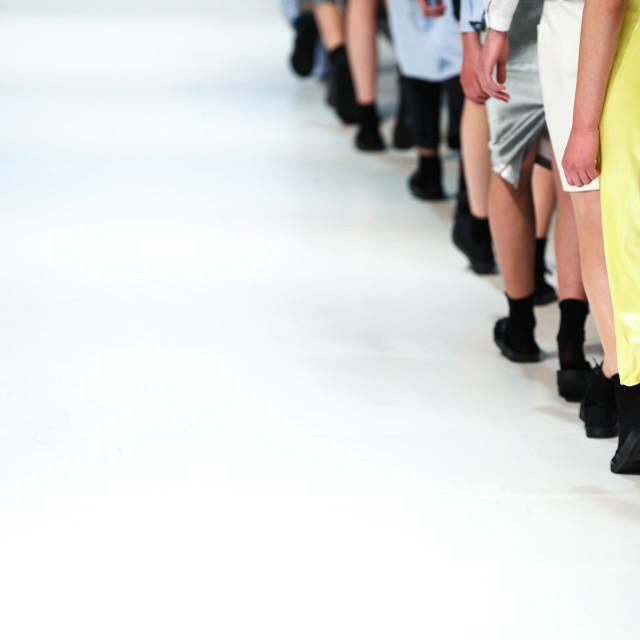 """Fashion Show"" stock image"