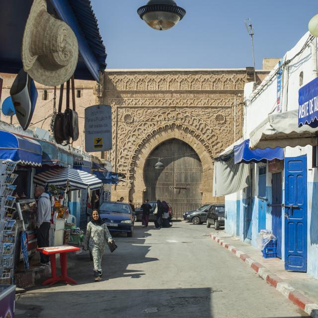 """Street in Rabat"" stock image"