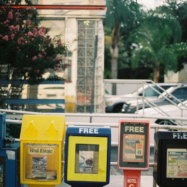 """Georgie's Diner, St Augustine, Florida, USA"" stock image"