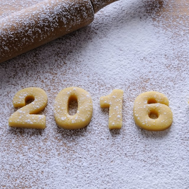 """2016 homemade cookies."" stock image"
