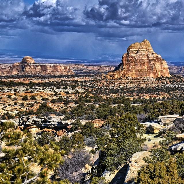 """""""Utah rain"""" stock image"""