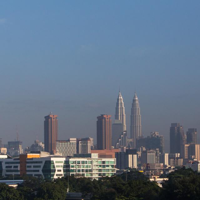 """Kuala Lumpur City Centre"" stock image"