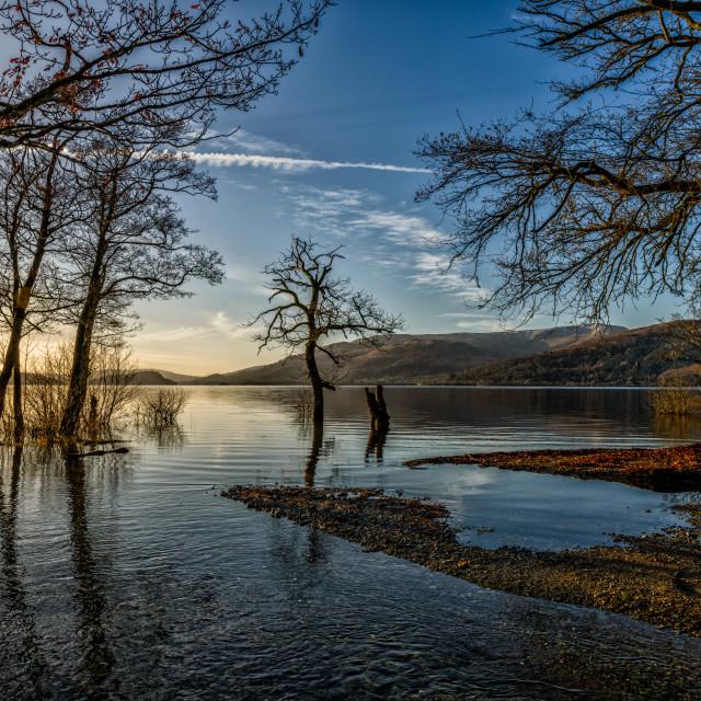 """Loch Lommond"" stock image"