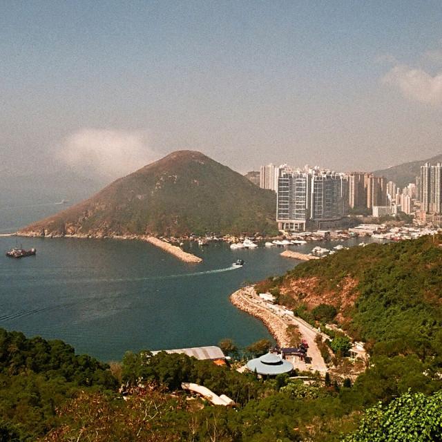 """""""Aberdeen Typhoon Shelter, Hong Kong"""" stock image"""