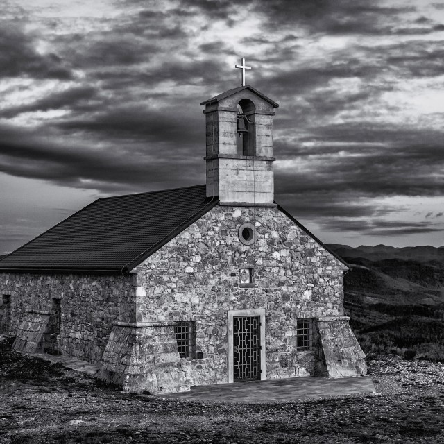 """Little church"" stock image"