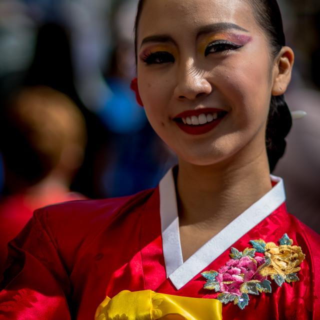 """Korean Dancer"" stock image"