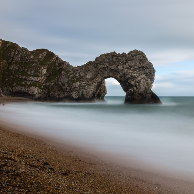 """Durdle's Door dip"" stock image"
