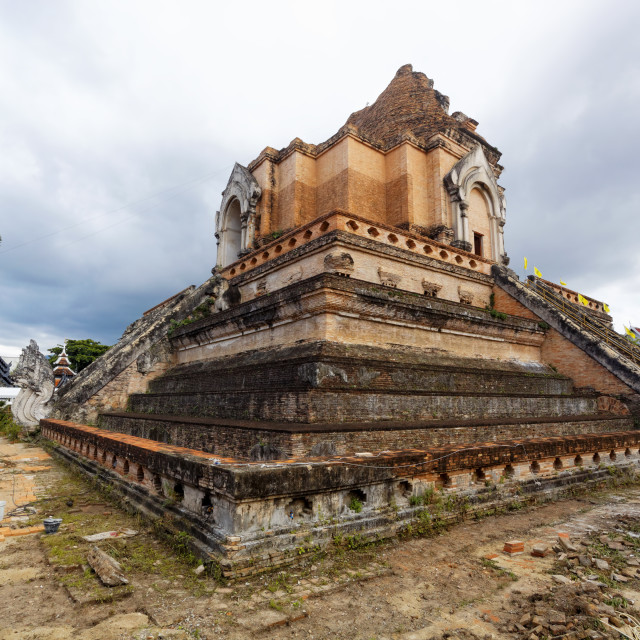 """""""chedi luang temple"""" stock image"""