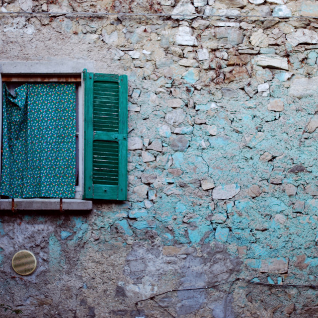 """Italian window"" stock image"