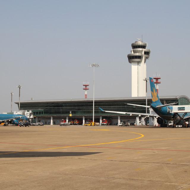 """Ho Chi Minh Airport"" stock image"