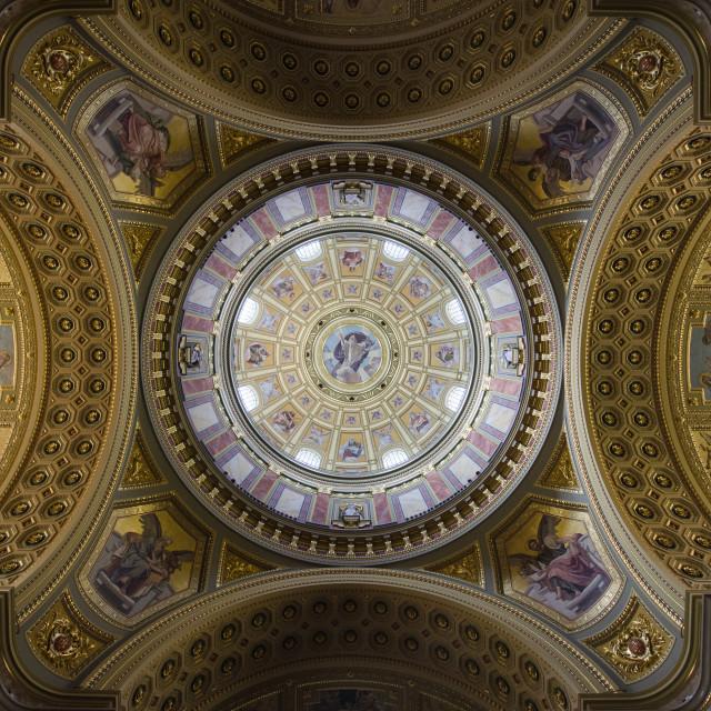 """St Stephen's Basilica, Budapest"" stock image"