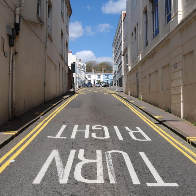 """Brighton Street"" stock image"