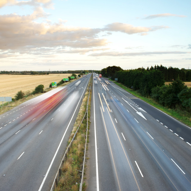 """A14 Cambridge"" stock image"