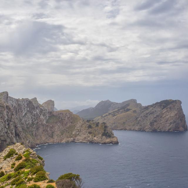 """Cap de Formentor"" stock image"