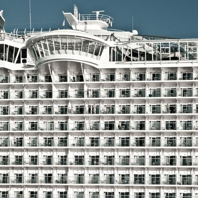 """Cruise cabins"" stock image"